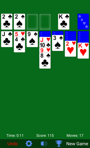 Solitaire 3.3.16 Screen 1