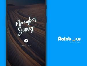 Rainbow Kwgt 3.2 Screen 3