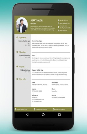 CV Maker Resume Builder PDF Template Format Editor 9.1.18.pro Screen 15