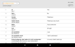 Android Learn German words with Smart-Teacher Screen 15