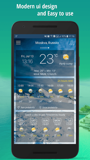 Android Weather Screen 8