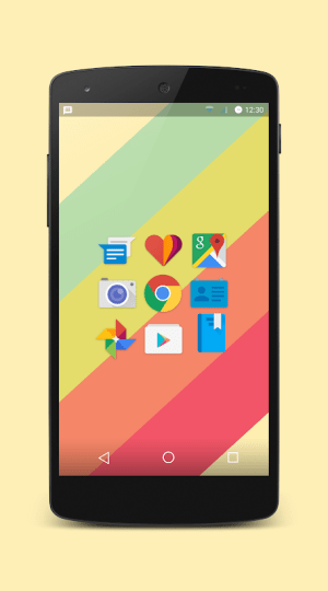 Android Platy UI 2 - Icon Pack Screen 3