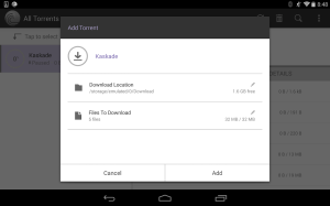 Android BitTorrent® Pro - Official Torrent Download App Screen 4