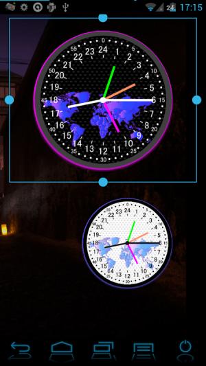 24 H Analog World Clock Free 1.0.5 Screen 1