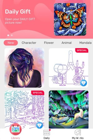 Paint By Number - Free Coloring Book & Puzzle Game 1.16.7 Screen 8