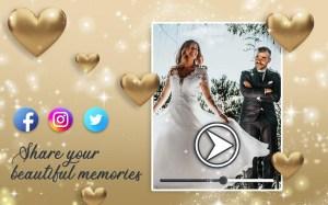 Wedding Slideshow With Music 💝 Video Maker 1.5 Screen 9