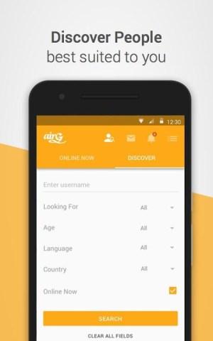 airG - Meet New Friends 3.2.8 Screen 2