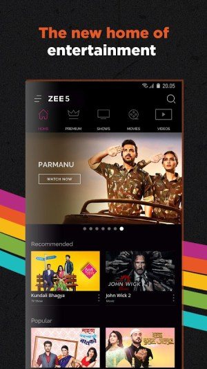 ZEE5 - Movies, TV Shows, LIVE TV & Originals 14.14.2 Screen 1