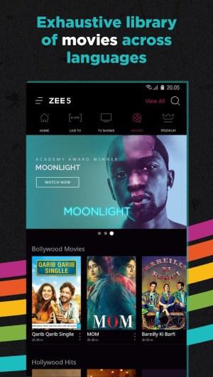 ZEE5 - Movies, TV Shows, LIVE TV & Originals 11.2.129 Screen 4