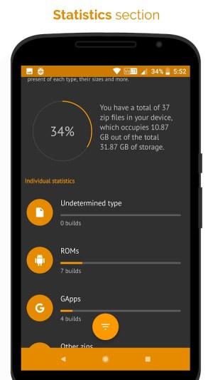 [ROOT] Custom ROM Manager (Pro) 5.5.3.0-pro-stable-minAPI21-arm Screen 6