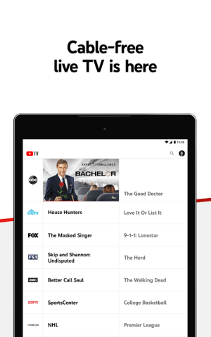 Android YouTube TV - Watch & Record Live TV Screen 13
