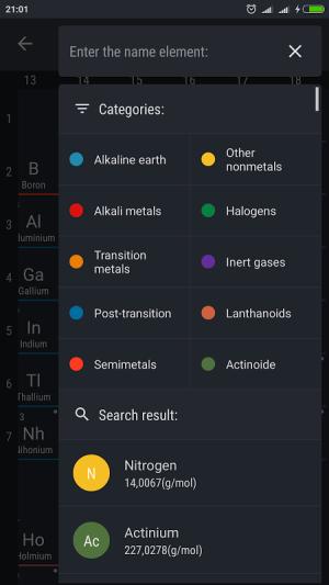Periodic Table 2017 0.1.28 Screen 3