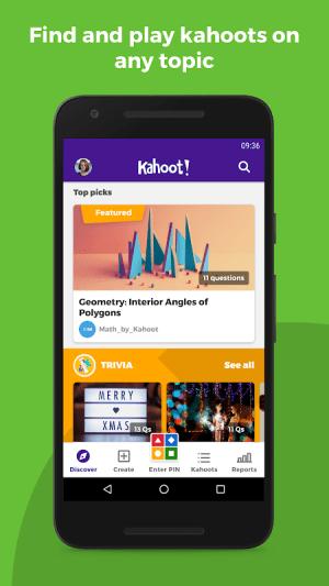 Kahoot! 3.7.6 Screen 11