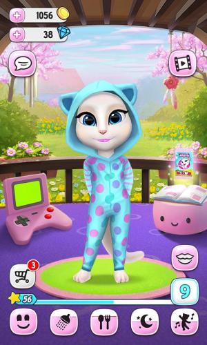 Android My Talking Angela Screen 5