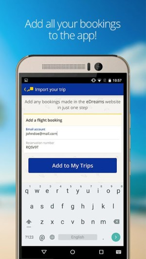 eDreams: Book cheap flights and travel deals 4.131.0 Screen 2