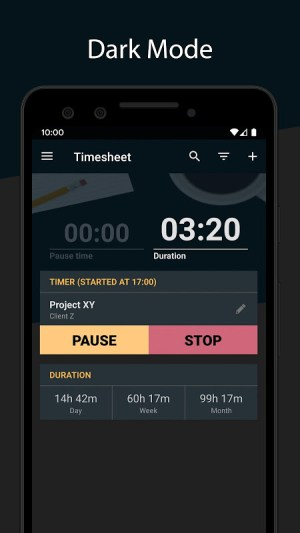 Timesheet - Time Tracker v2.7.6 Screen 8