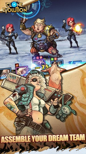 Clone Evolution: RPG Battle-Future Fight Fantasy 1.3.0 Screen 2