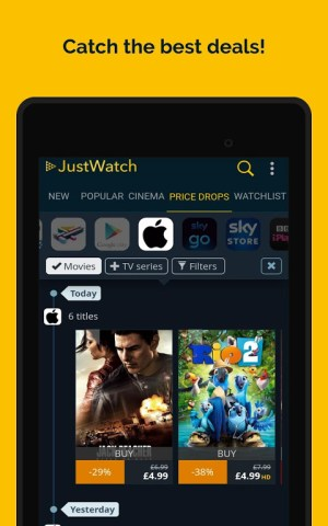 JustWatch - Search Engine for Streaming and Cinema 2.5.13 Screen 22