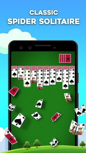 Android Spider Solitaire Screen 9