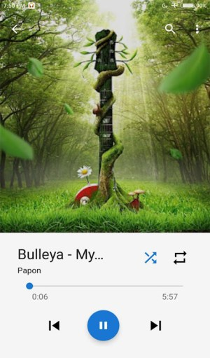 Android Music Player Screen 8