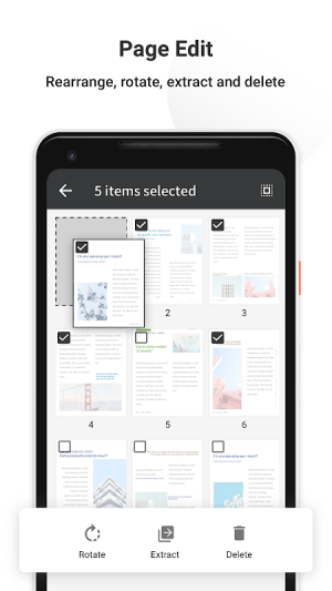 Android PDF Reader Pro - Annotate, Edit, Fill Forms & Sign Screen 4