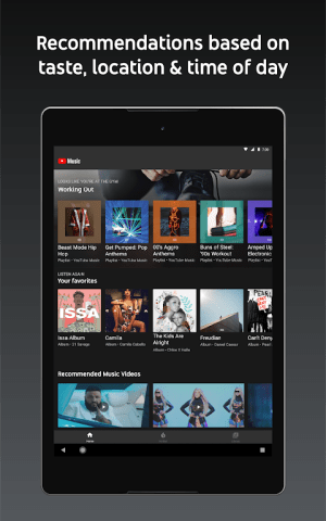 Android YouTube Music - stream music and play videos Screen 7