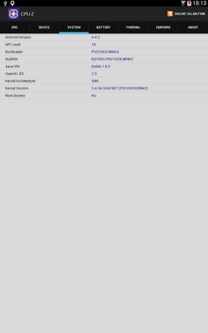 CPU-Z 1.33 Screen 9