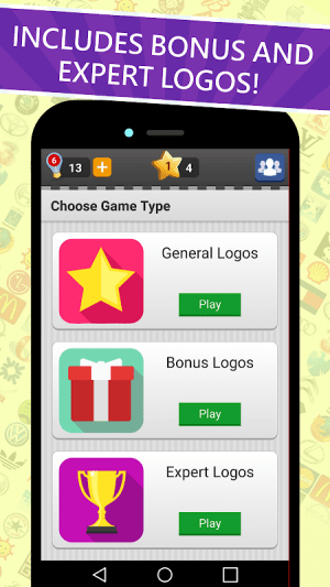 Android Logo Game: Guess Brand Quiz Screen 5