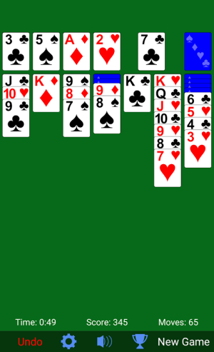 Solitaire 3.3.10 Screen 2