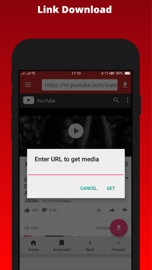 SnobTube-youtube video and audio downloader from over 100 sites 2.3 Screen 3