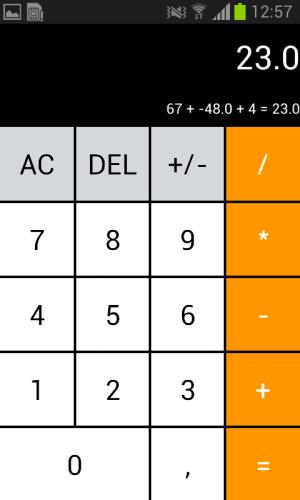 Android Calculator - Hesap Makinesi Screen 1