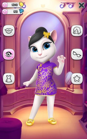 Android My Talking Angela Screen 6