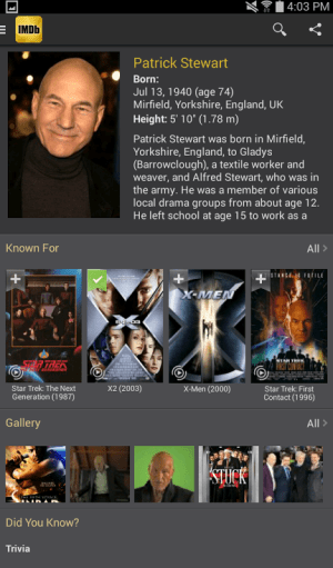 IMDb Movies & TV 2.3.2a Screen 8