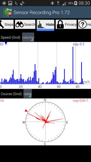 Sensor Recording Lite 6.26 Screen 4