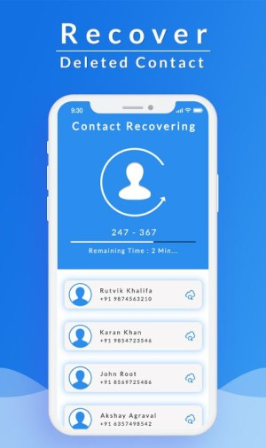 Recover All Deleted Contacts 1.1 Screen 3