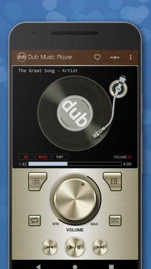 Android Dub Music Player - Free Audio Player, Equalizer 🎧 Screen 5