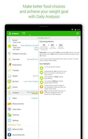 Diabetes & Diet Tracker 5.6.1 Screen 14
