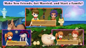 Android Harvest Moon: Light of Hope Screen 2