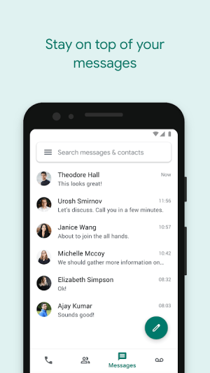 Google Voice 2020.06.291499052 Screen 4