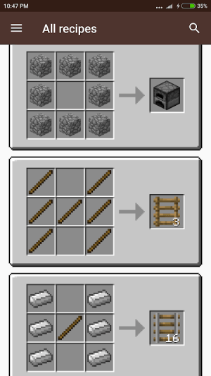 Helper for Minecraft 1.13 1.3 Screen 4