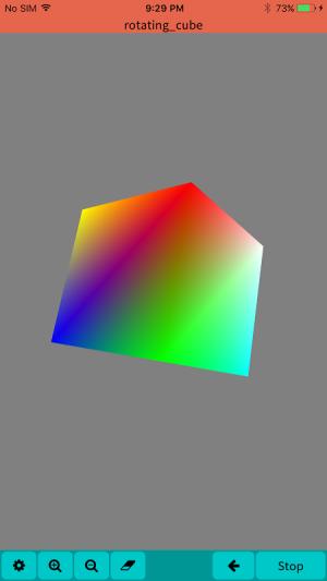 Mobile C ( C/C++ Compiler ) 2.2.5 Screen 4