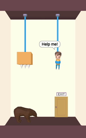 Rescue Cut - Rope Puzzle 1.11 Screen 3