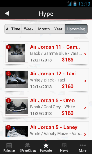 KicksOnFire 2.0.5 Screen 4
