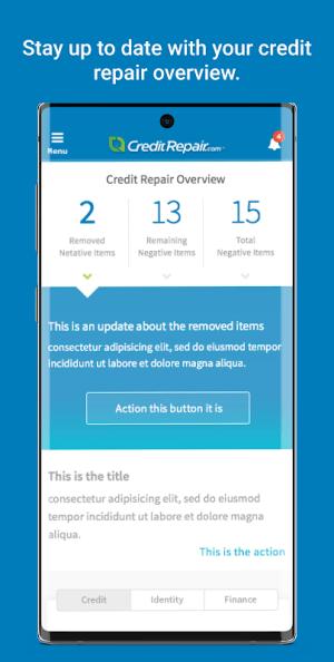 CreditRepair 2.1.15 Screen 4