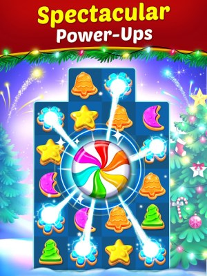 Christmas Cookie - Santa Claus's Match 3 Adventure 3.1.0 Screen 4