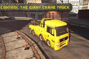 Android City Crane Parking Sim 2014 Screen 1