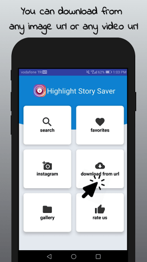 Android Highlight Story Saver for Instagram Screen 7