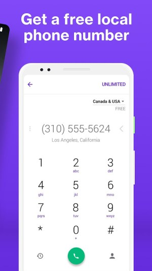 Android TextNow - Free US Phone Number Screen 5