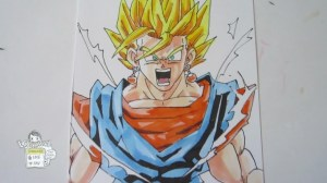 How to draw DBZ 3.0 Screen 2