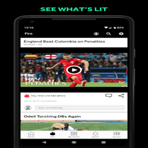Android Bleacher Report: sports news, scores, & highlights Screen 2